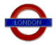 London Underground Sign,  London , Metal Pin Badge (GWC)